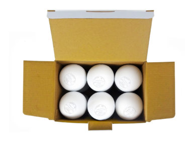 Gladiator Lacrosse® Box of 12 OFFICIAL Lacrosse Game Balls – White – Meets NOCSAE STANDARDS, SEI CERTIFIED