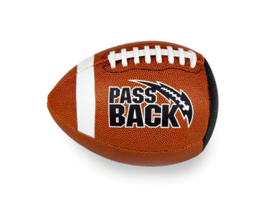 Official Composite Passback Training Football (Ages 14+)
