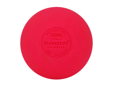 Gladiator Lacrosse® Single Official Lacrosse Ball – Pink – Meets NOCSAE Standards, SEI Certified