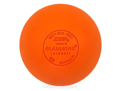 Gladiator Lacrosse® Pack of 3 Fully Certified, Official Lacrosse Game Balls – Multicolor – Meets All Standards